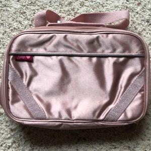 GAP Kids Lunch Bag Pink Shimmer Lunch Bag W/ Strap